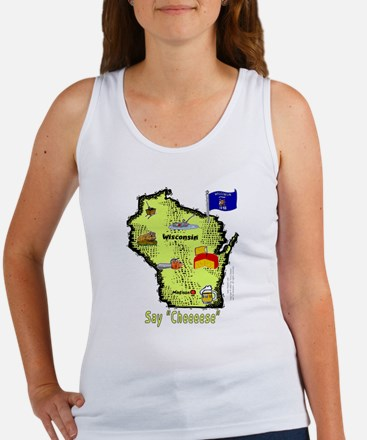 WI-Say Cheese! Women's Tank Top