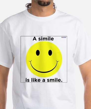A Smile Is Like A Simile / T-Shirt