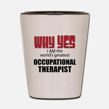 Occupational Therapist Shot Glass