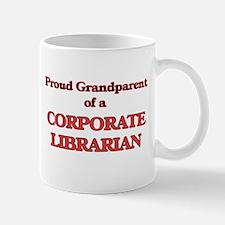 Proud Grandparent of a Corporate Librarian Mugs
