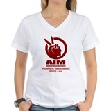 American indian movement Womens V-Neck T-shirts
