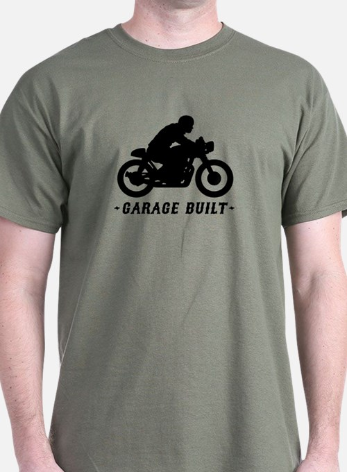 Cute Cafe racer motorcycle T-Shirt