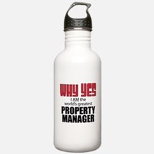 Property Manager Water Bottle