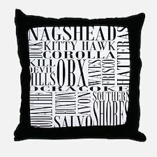 Unique Obx Throw Pillow