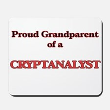 Proud Grandparent of a Cryptanalyst Mousepad
