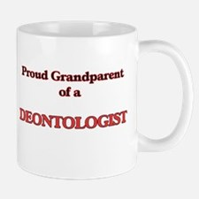 Proud Grandparent of a Deontologist Mugs