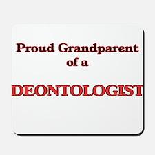 Proud Grandparent of a Deontologist Mousepad