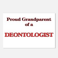 Proud Grandparent of a De Postcards (Package of 8)
