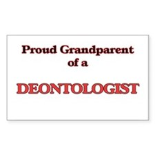 Proud Grandparent of a Deontologist Decal