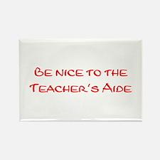 Teacher's Aide Rectangle Magnet (10 pack)