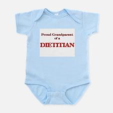 Proud Grandparent of a Dietitian Body Suit