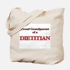Proud Grandparent of a Dietitian Tote Bag