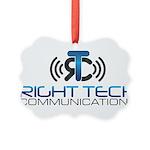 Right Tech Main Logo Picture Ornament