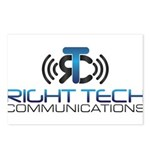 Right Tech Main Logo Postcards (Package of 8)