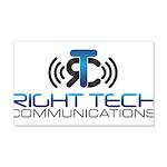 Right Tech Main Logo Decal Wall Sticker