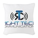 Right Tech Main Logo Woven Throw Pillow