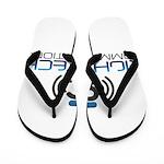 Right Tech Main Logo Flip Flops