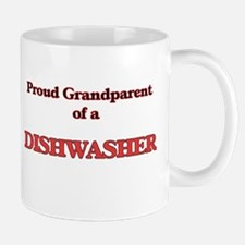 Proud Grandparent of a Dishwasher Mugs