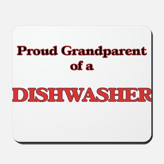 Proud Grandparent of a Dishwasher Mousepad