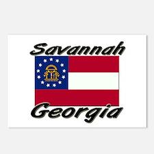 Savannah Georgia Postcards (Package of 8)