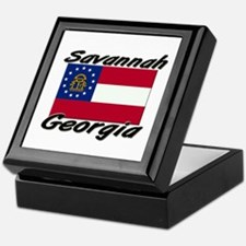 Savannah Georgia Keepsake Box