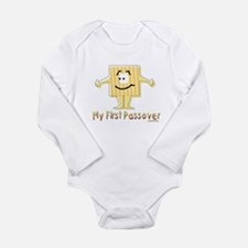 Funny My first Long Sleeve Infant Bodysuit