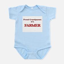 Proud Grandparent of a Farmer Body Suit