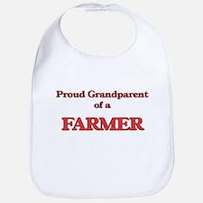 Proud Grandparent of a Farmer Bib