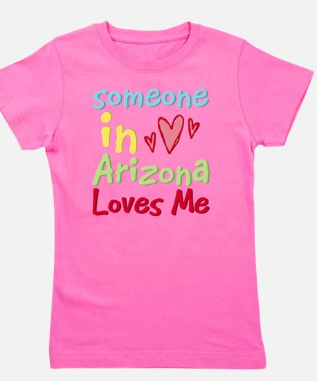 Cute Someone michigan loves me Girl's Tee