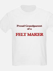 Proud Grandparent of a Felt Maker T-Shirt
