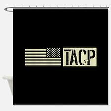 U.S. Air Force: TACP (Black Flag) Shower Curtain