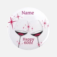 Custom 60th Birthday Button
