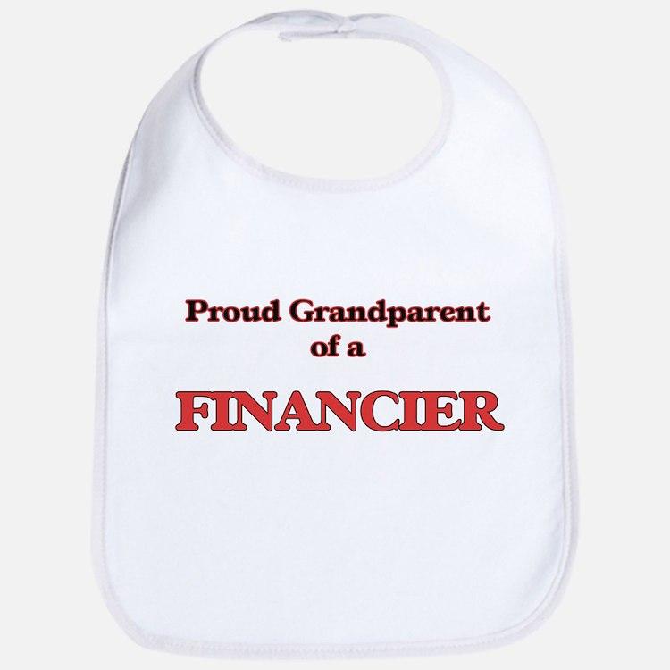 Proud Grandparent of a Financier Bib