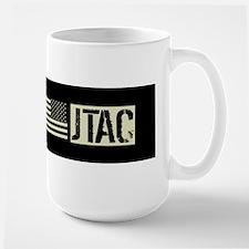 U.S. Air Force JTAC: Black Backwards Fl Mug