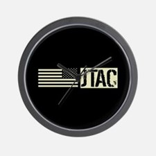 U.S. Air Force: JTAC (Black Flag) Wall Clock