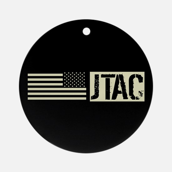 U.S. Air Force: JTAC (Black Flag) Round Ornament