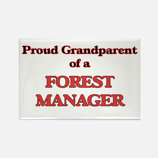 Proud Grandparent of a Forest Manager Magnets
