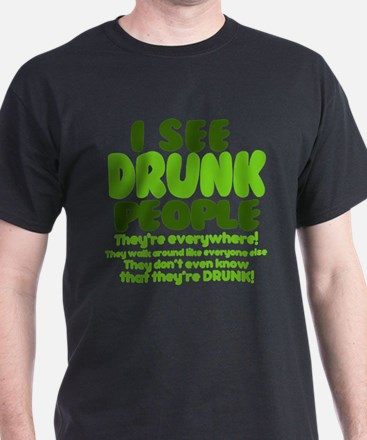 Cool Drunk people T-Shirt