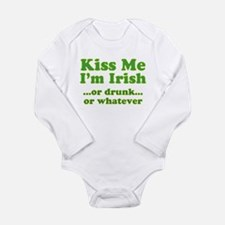 Funny St. patrick%27s day Long Sleeve Infant Bodysuit