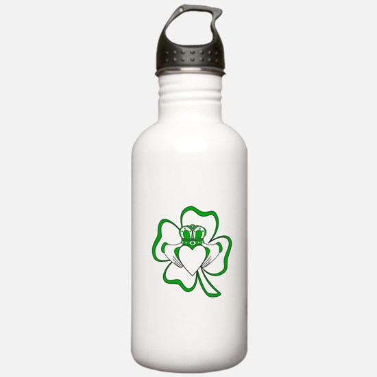 Claddagh-01 Water Bottle