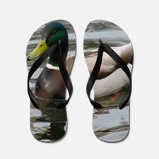 Cute Duck Flip Flops