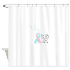 Your Wings Were Ready But My Heart Shower Curtain
