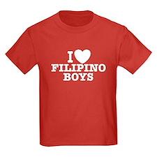 I Love Filipino Boys T