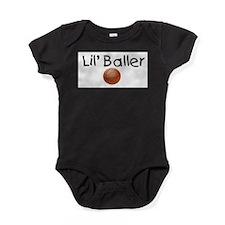 Funny Basketball kid Baby Bodysuit