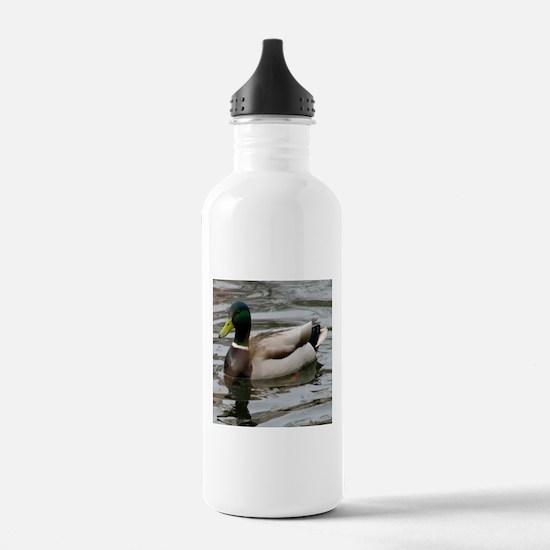 Mallard Duck On Scudde Water Bottle
