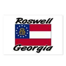 Roswell Georgia Postcards (Package of 8)