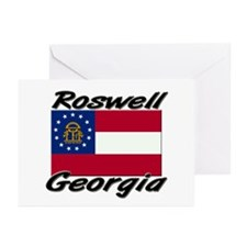 Roswell Georgia Greeting Cards (Pk of 10)