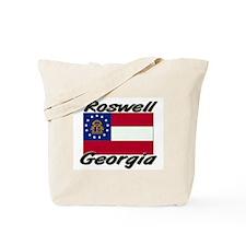 Roswell Georgia Tote Bag