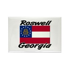 Roswell Georgia Rectangle Magnet
