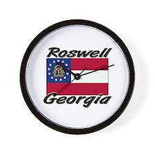 Roswell Georgia Wall Clock